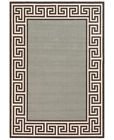 "Surya Alfresco ALF-9625 Sage 2'3"" x 4'6"" Area Rug, Indoor/Outdoor"