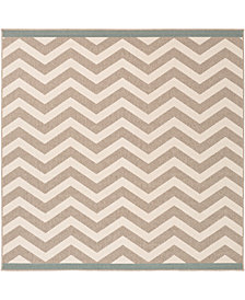 "Surya Alfresco ALF-9645 Camel 7'3"" Square Area Rug"