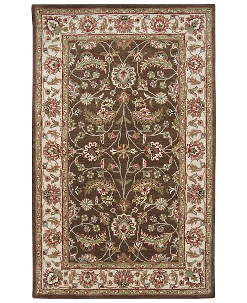 Surya Caesar CAE-1003 Dark Brown 9' x 12' Area Rug