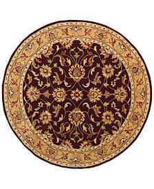 Surya Caesar CAE-1024 Burgundy 8' Round Area Rug