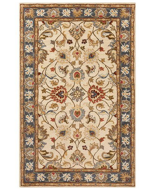 Surya Caesar CAE-1125 Bright Yellow 5' x 8' Area Rug
