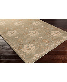 Surya Caesar CAE-1160 Dark Green 6' Square Area Rug