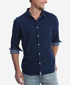Wrangler Men's Long Sleeve Double Cloth Shirt