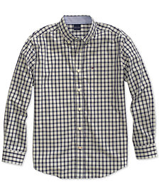 Tommy Hilfiger Adaptive Men's Stall Check Shirt with Magnetic Buttons