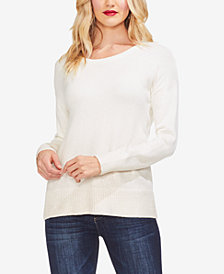 Vince Camuto Foiled-Ombré Sweater