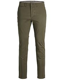 Men's Classic Olive Chino Pants