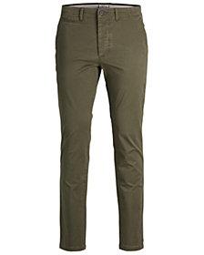 Jack & Jones Men's Classic Olive Chino Pants