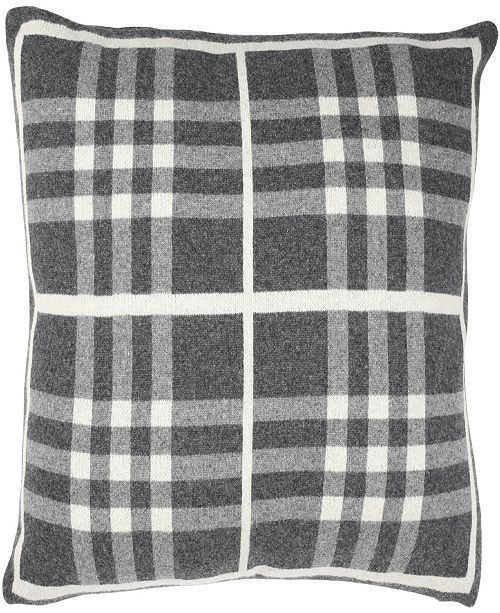 "Safavieh Unity Gingham Knit 20"" x 20"" Pillow"