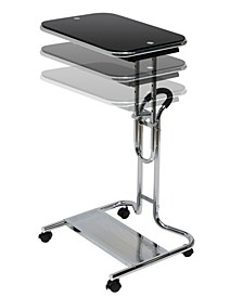 Laptop Cart with Mouse Chrome