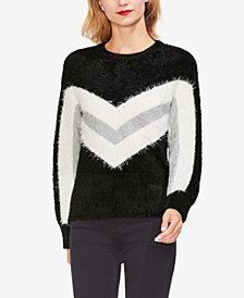 Vince Camuto Tinsel Chevron Sweater