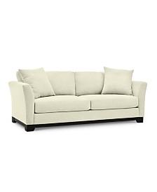 "Elliot II 90"" Fabric Sofa, Created for Macy's"