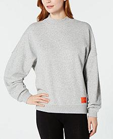 NEW! Calvin Klein Monogram Lounge Long-Sleeve Sweatshirt