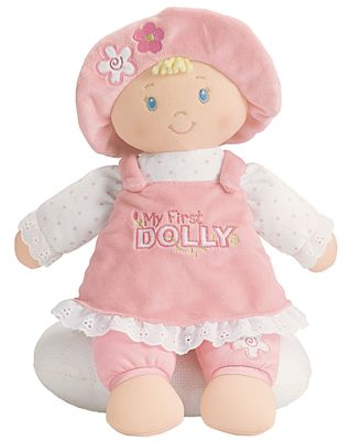 Gund® Baby Girl My First Dolly Playset