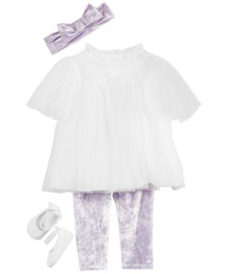 Baby Girls Ballet Shoes, Created for Macy's