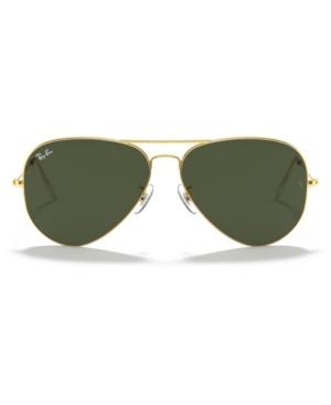 Image of Ray-Ban Sunglasses, RB3026 Aviator Large