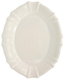 Chloe White Oval Platter