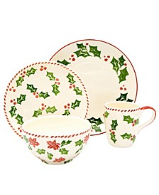 Natal 16 Piece Dinnerware Set