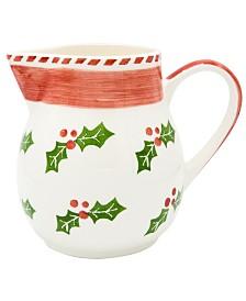 Euro Ceramica Natal Pitcher