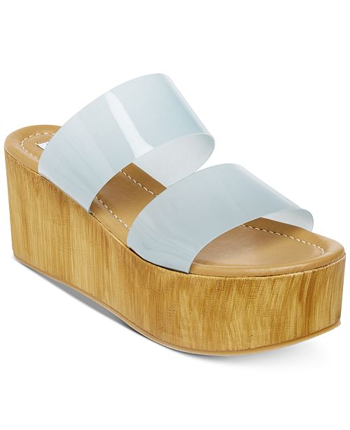 b18b15873b8 Steve Madden Women s Confession Wedge Sandals   Reviews - Sandals ...