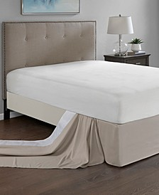 Simple Fit One Size Wrap Around Adjustable Bedskirt