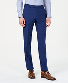 Hugo Boss Men's Textured Modern-Fit Pants