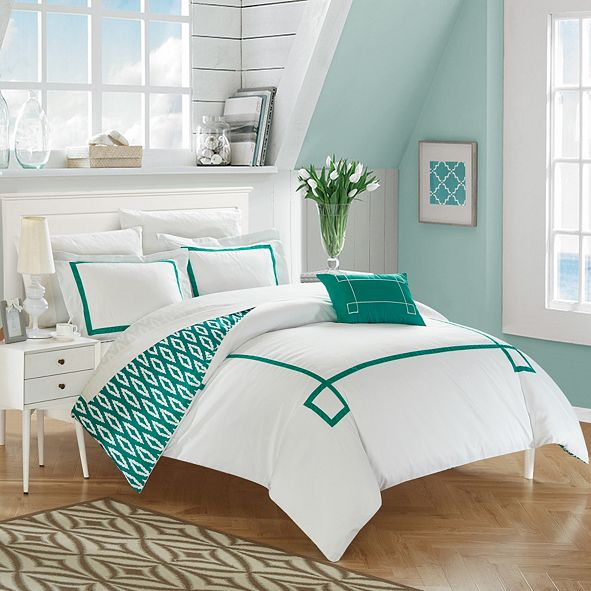 Chic Home Kendall 8 Pc King  Duvet Set