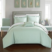 Hartford 8 Pc Queen  Duvet Set