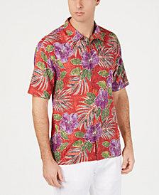 Tommy Bahama Men's Hibiscus Cove Hawaiian Silk Camp Shirt