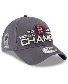 New Era Boston Red Sox World Series Locker Room 9TWENTY Cap 2018