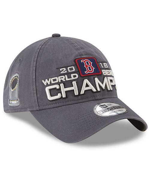 3f09a920016 ... New Era Boston Red Sox World Series Locker Room 9TWENTY Cap 2018 ...