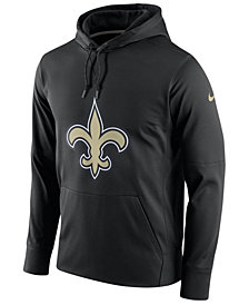 Nike Men's New Orleans Saints Performance Circuit Logo Essential Hoodie