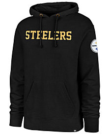 '47 Brand Men's Pittsburgh Steelers Stateside Striker Hoodie