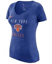 f6bbee4b86f15 Nike Women s New York Knicks Dri V-Neck T-Shirt