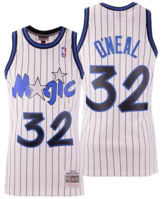 Shaquille O/'neal Orlando Magic NBA Mitchell /& Ness Youth Swingman Jersey Blue
