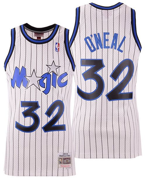 ... Mitchell   Ness Men s Shaquille O Neal Orlando Magic Hardwood Classic Swingman  Jersey ... 3ba3758dc