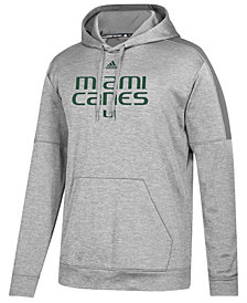 adidas Men's Miami Hurricanes Team Issue Fleece Hoodie