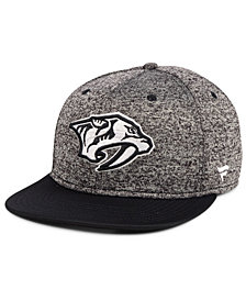Authentic NHL Headwear Nashville Predators Emblem Snapback Cap