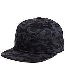 Authentic NHL Headwear Detroit Red Wings Mute Camo Snapback Cap