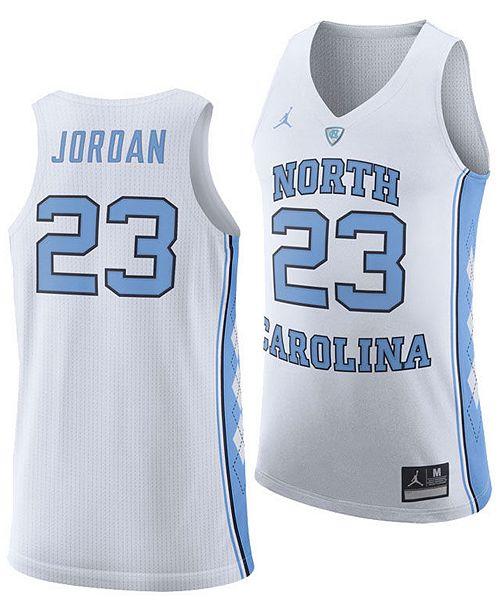 4c6de69422f2bf ... Nike Men s Michael Jordan North Carolina Tar Heels Authentic Basketball  Jersey ...