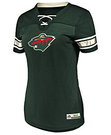 Majestic Women's Minnesota Wild Draft Me T-Shirt