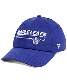 Authentic NHL Headwear Toronto Maple Leafs Rinkside Fundamental Adjustable Cap