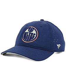 Authentic NHL Headwear Edmonton Oilers Pro Clutch Adjustable Cap