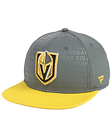 Authentic NHL Headwear Vegas Golden Knights Rinkside Snapback Cap