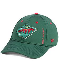 Authentic NHL Headwear Minnesota Wild Authentic Rinkside Flex Cap
