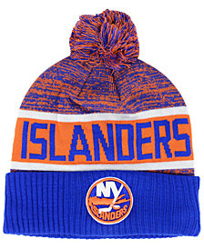 Authentic NHL Headwear New York Islanders Goalie Knit Hat