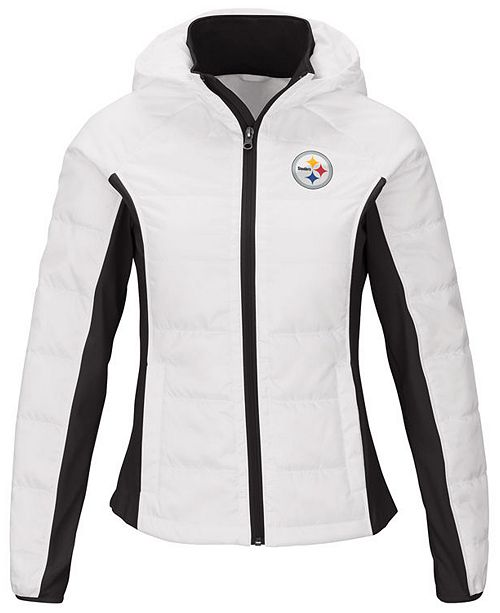 size 40 006e7 d69d5 Women's Pittsburgh Steelers Defense Polyfill Jacket