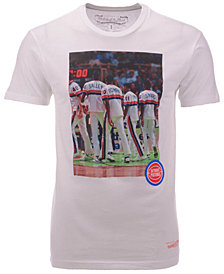 Mitchell & Ness Men's Detroit Pistons Photo Real T-Shirt