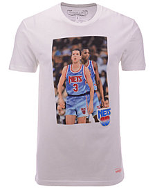 Mitchell & Ness Men's New Jersey Nets Photo Real T-Shirt