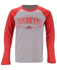 Ohio State Buckeyes Audible Long Sleeve T-Shirt, Big Boys (8-20)