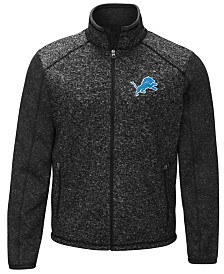 G-III Sports Men's Detroit Lions Alpine Zone Sweater Fleece Jacket